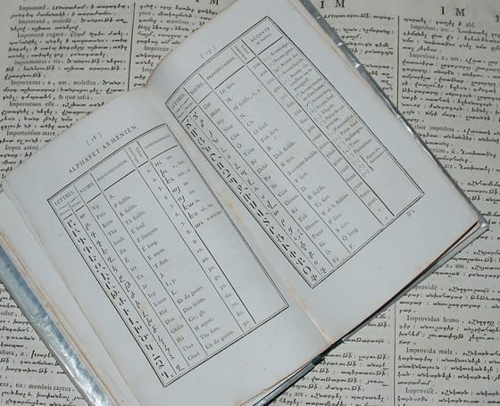 La typographie utilisée dans le livre